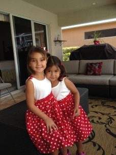 February - My heart belongs to my neices.