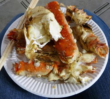 Grilled Hokkaido Crabs